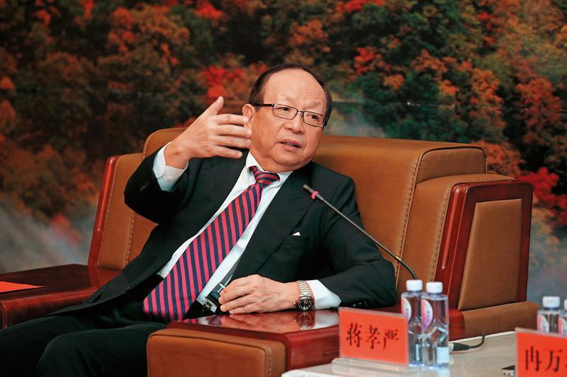 國民黨榮譽副主席蔣孝嚴遭吳姓台商指控拿錢喬事不成,只想退款了事。(東方IC)