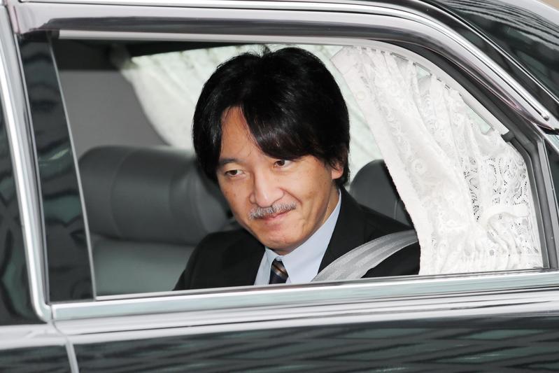 德仁繼位為新天皇之後,「皇弟」秋篠宮成為日本皇室第一順位繼承人。(東方IC)