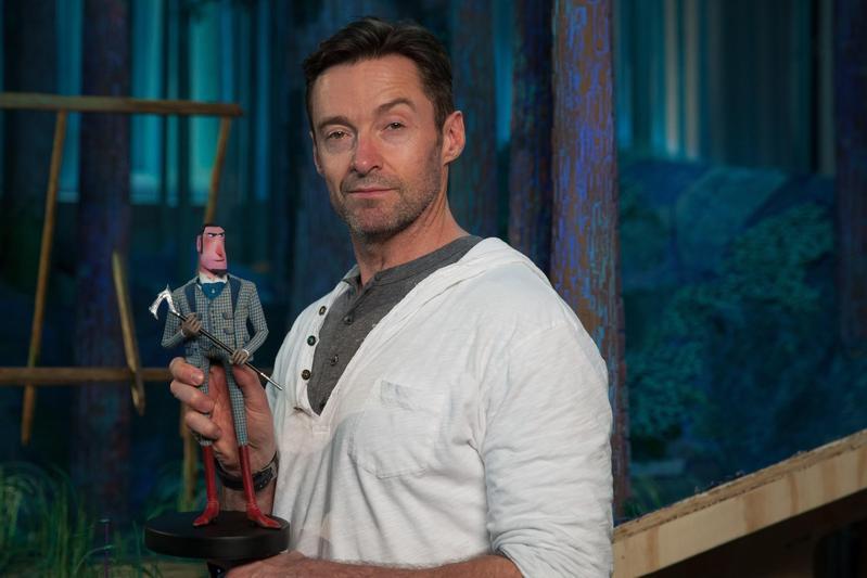 休傑克曼在定格動畫電影《大冒險家》中飾演充滿冒險精神的萊諾爵士。(甲上提供)