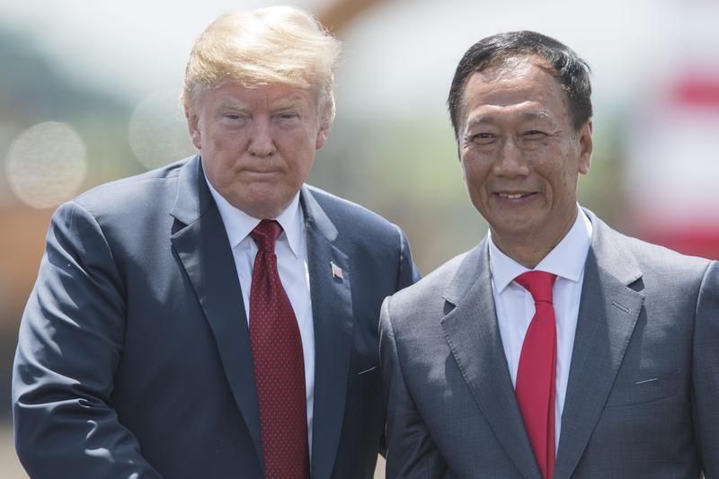 美東時間2日,白宮對外發布聲明,強調郭台銘在威州會有更多投資,但總統並未討論支持郭先生在台選總統。(東方IC)