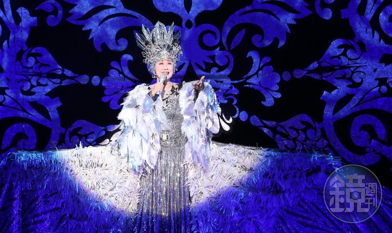 日本演歌天后小林幸子在台舉辦出道55週年演唱會。