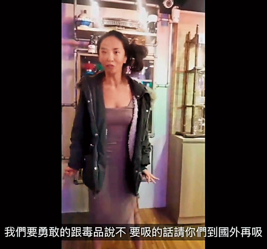 雖承認自己會吸毒,但薔薔宣稱自己只在國外合法的地方使用。(翻攝自薔薔臉書)