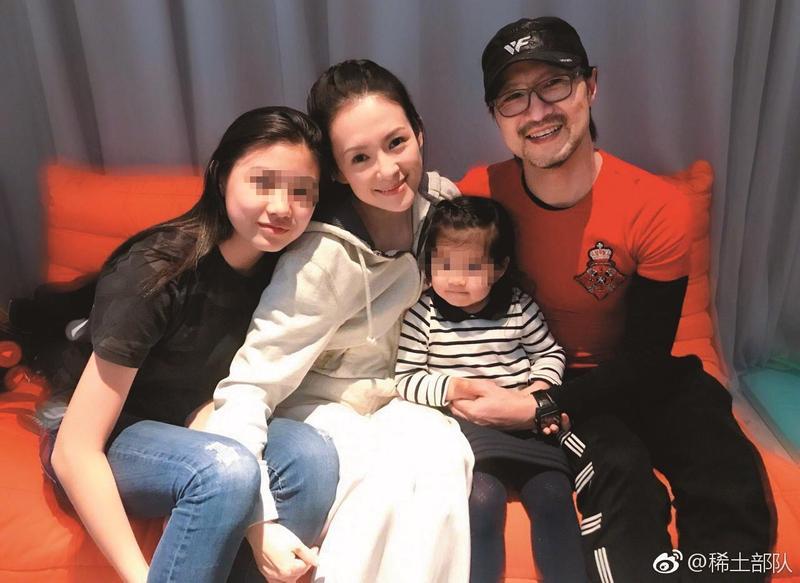 汪峰和章子怡是公開認證的雙劈,如今也組家庭相當幸福。(翻攝稀土部隊微博)