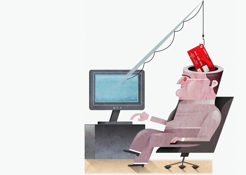 詐騙手法日新月異,從以前的飛鴿傳書、電話到現在的網路,無所不用其極來騙取你的錢。(東方IC)