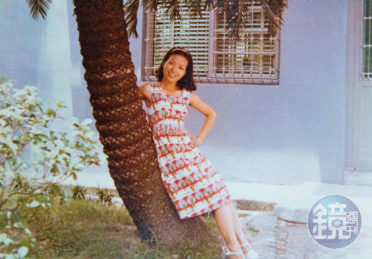 從小在苗栗頭屋鄉長大,陳雪貞婚前曾是鶴岡國中職員。(張陳雪貞提供)