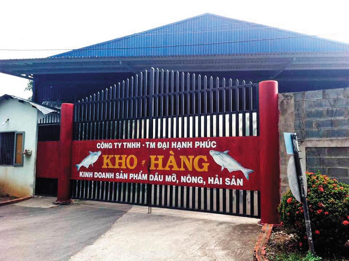 越南大幸福廠提供給頂新的油品原料,被台中高分院認定不合格。(中央社)