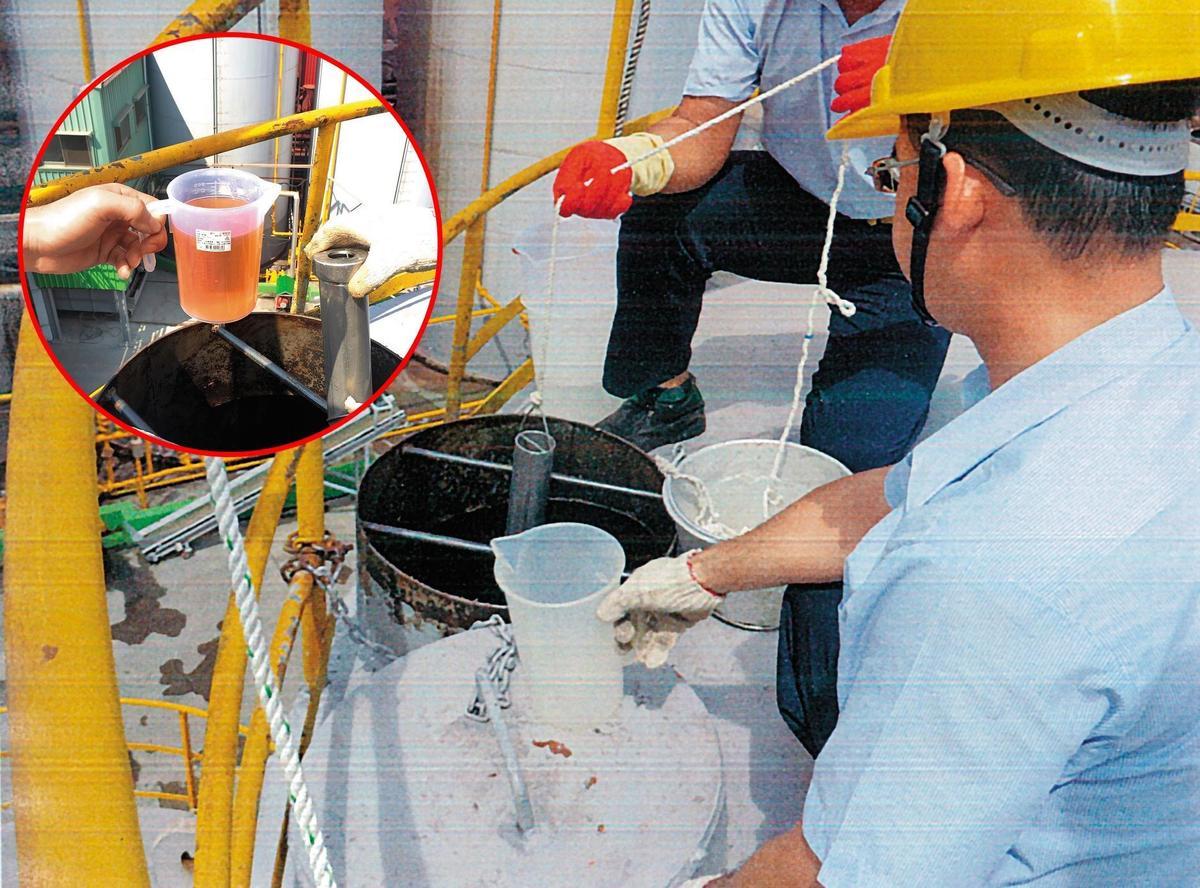 頂新油品案2014年10月爆發,直到隔年5月才對儲油槽採樣,卻被當成定罪證據。(資料照片)