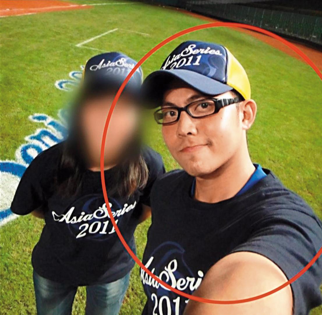 陳明峰很受異性歡迎,臉書好友有2千多人,就是沒有鄭女。(翻攝臉書)