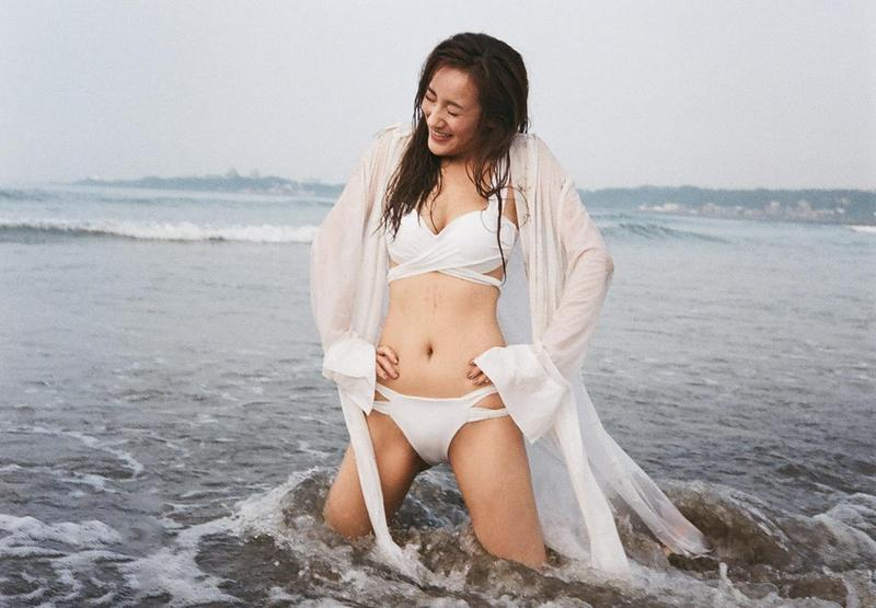 夏宇禾接受GQ人物專訪,拍攝一系列性感照相當性感。(GQ提供)