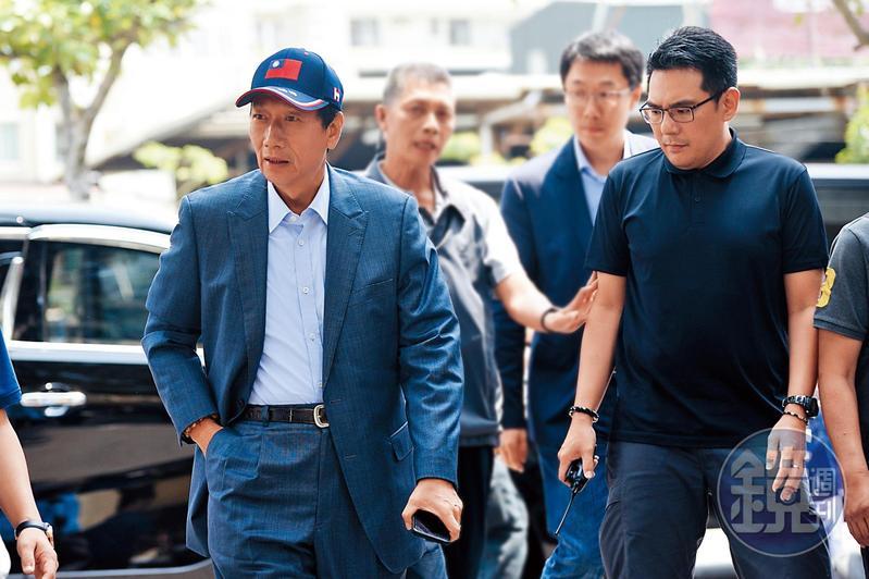 鴻海集團董事長郭台銘宣布投入2020總統選舉,為台灣政壇投下震撼彈。