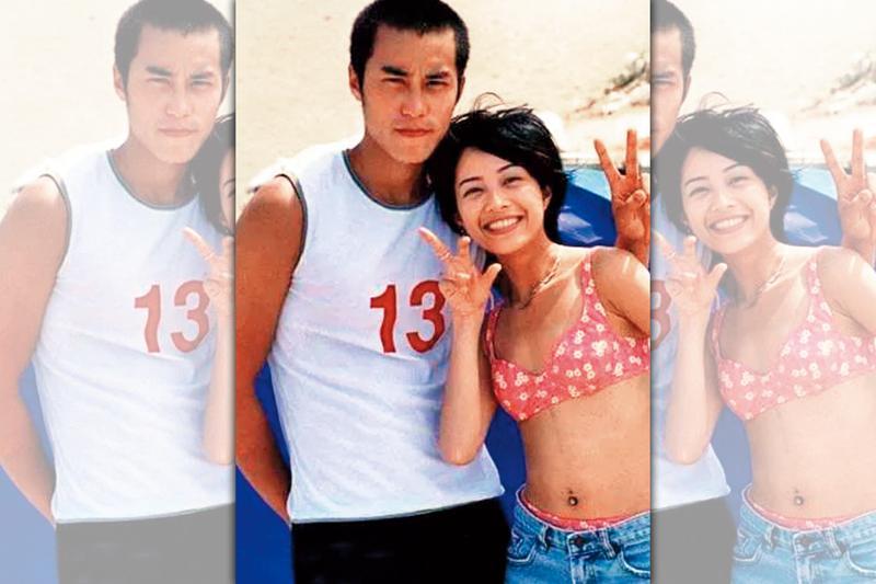 早年張孝全(左)跟當紅的徐懷鈺(右)有過一段,但卻被說是利用她炒知名度,戀情最後也破局。(年輕帝國提供)