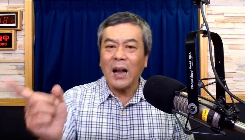 董智森為楊秋興怒槓韓粉,直指多數韓粉是垃圾。(翻攝自YouTube九八新聞台)