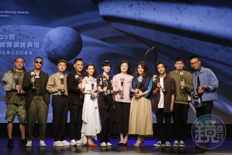 第30屆金曲獎入圍名單公布,蔡依林的《Ugly Beauty》及林憶蓮的《0》皆入圍7項。