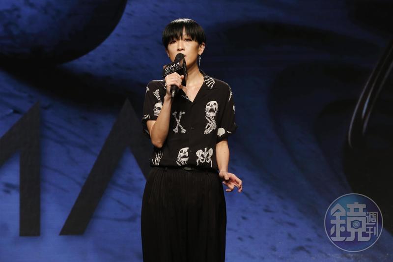 陳珊妮擔任第30屆金曲獎評審團主席。