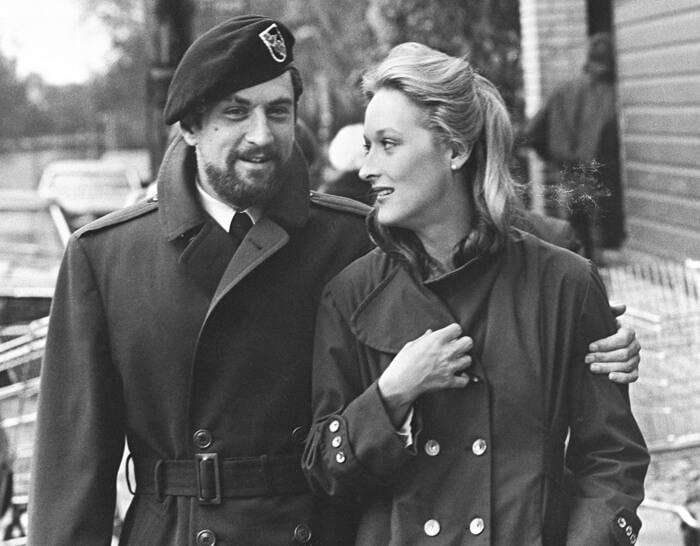 由勞勃狄尼洛與梅莉史翠普主演的《越戰獵鹿人》列名影視百大,即將在台上映數位修復版。(傳影互動提供)