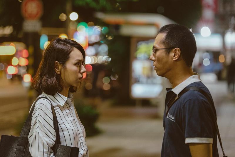 夏于喬在公視最新戲劇《噬罪者》飾演莊凱勛的前女友沈雯青,角色的個性真的就跟「文青」一樣。(公視提供)