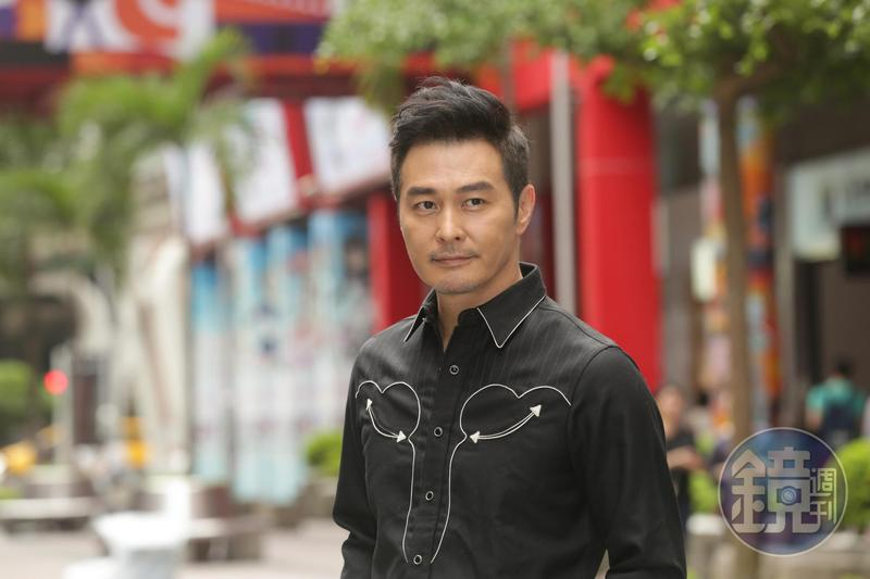 連凱長年在香港、大陸發展,許多人都不知道他原來是台灣人,他也很開心終於能演出國片。