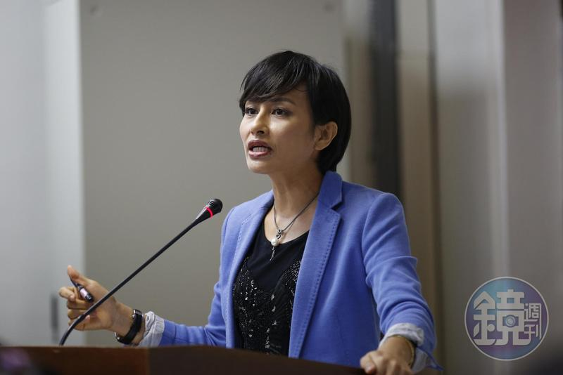 民進黨立委邱議瑩表態支持同婚專法政院版本。