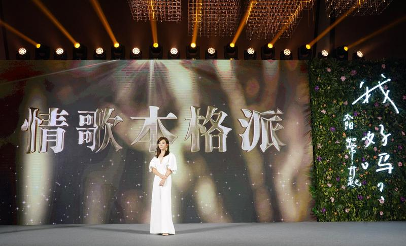 梁靜茹過去7年專心在家庭角色,新的情歌,她不只是為歌迷而唱,也為自己而唱。(環球唱片提供)