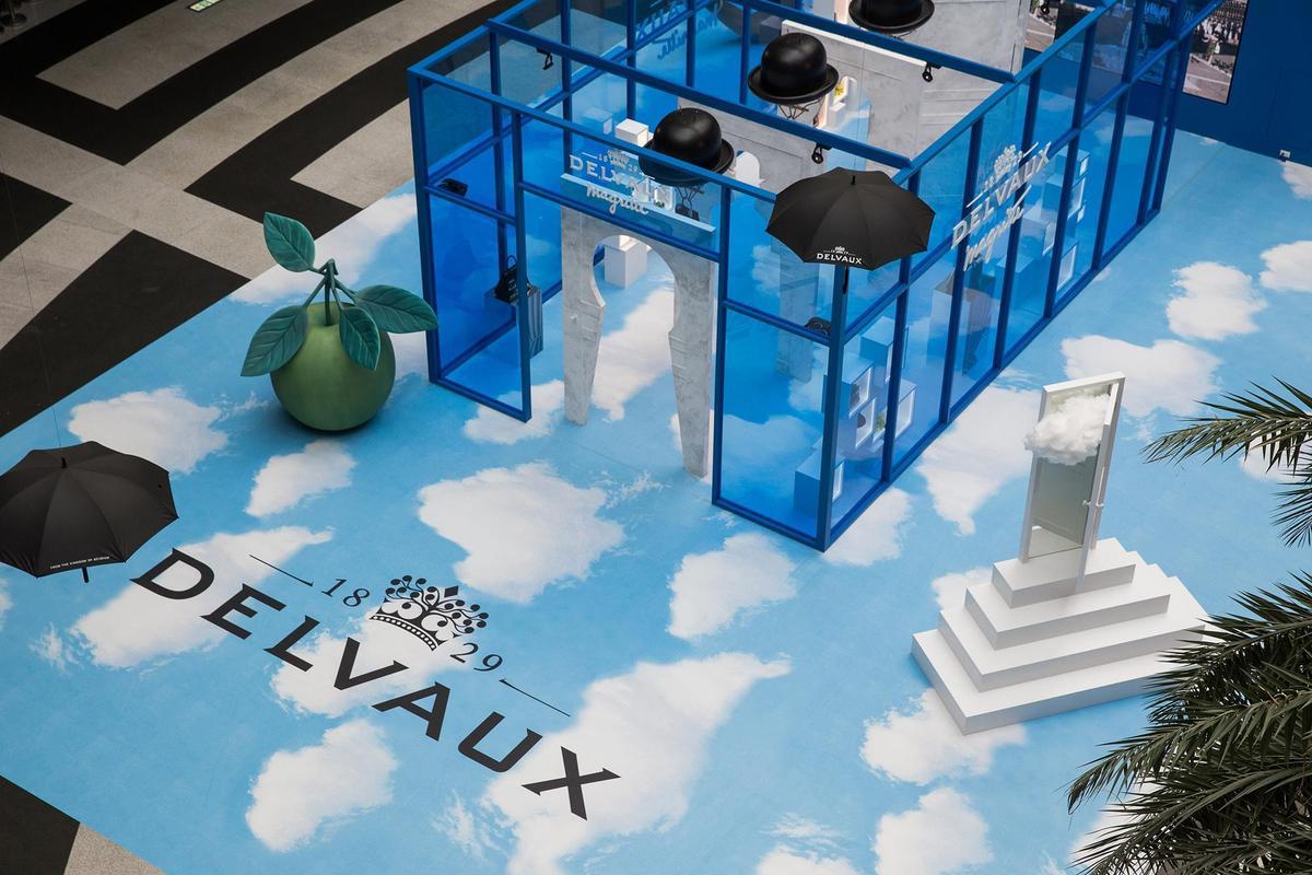 DELVAUX馬格利特系列特展自本周日起在BELLAVITA開放大眾參觀至6/9(日)。〈DELVAUX提供〉