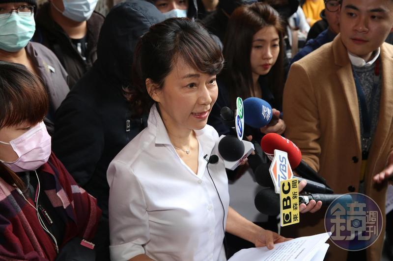 郭新政遭依偽造文書等罪判刑4個月有期徒刑定讞,日前向高院聲請再審,被合議庭駁回。