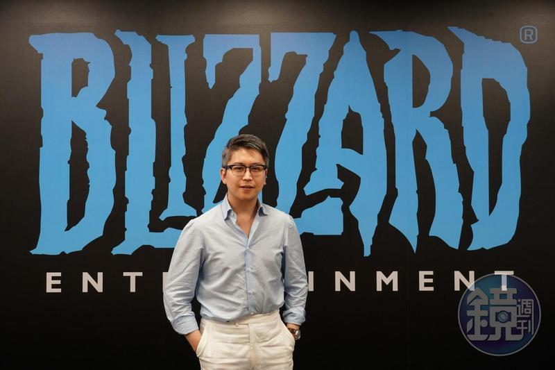 暴雪動畫部資深總監陳璿(Steven Chen)應邀回台演講,在台灣暴雪安排下與媒體閉門座談。
