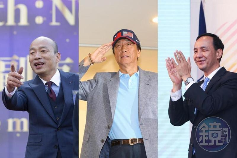 有網友發現,挺韓國瑜和朱立倫的臉書社團,最近紛紛轉向支持郭台銘。