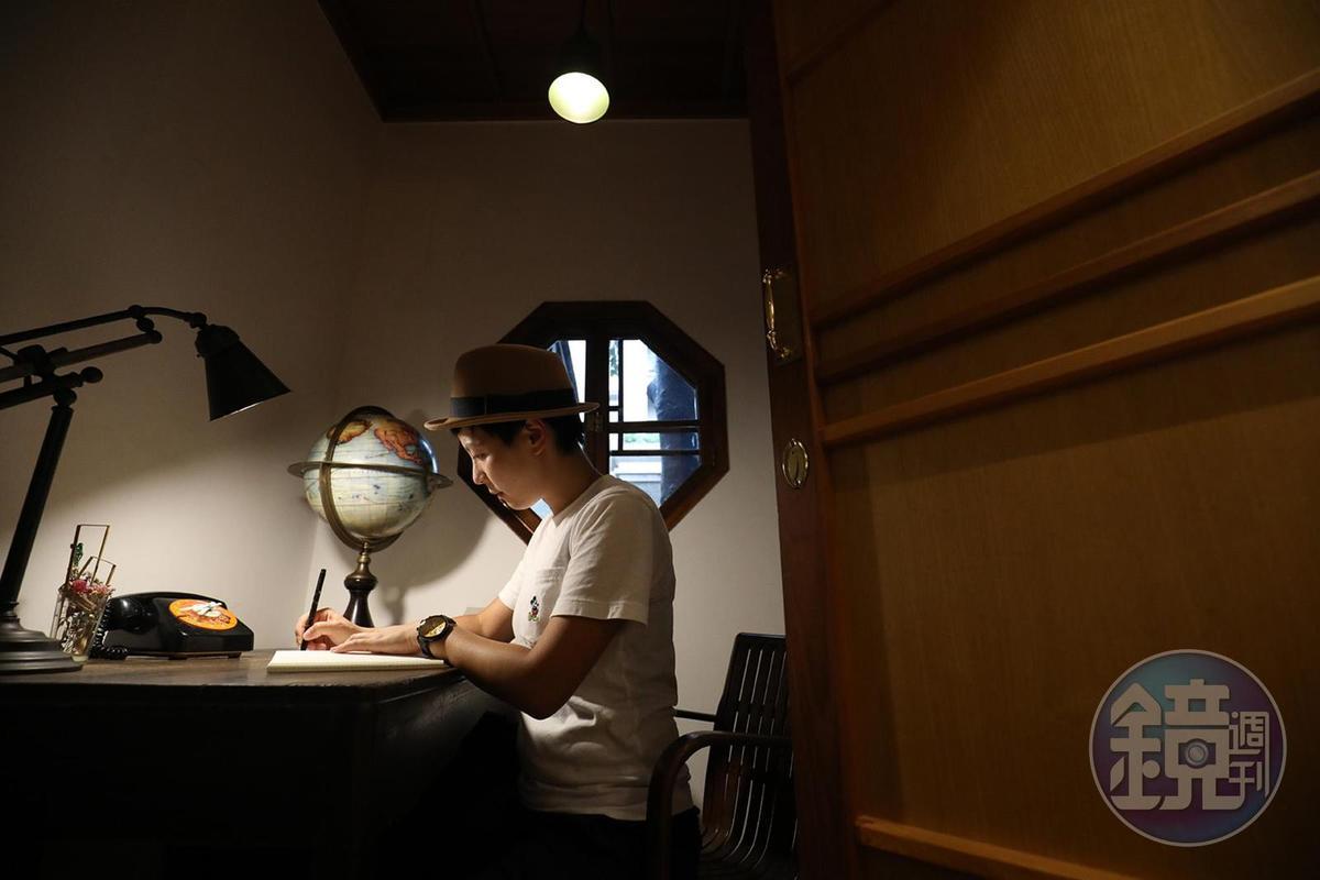 閱讀書房是一人獨自看書的隱密所在。
