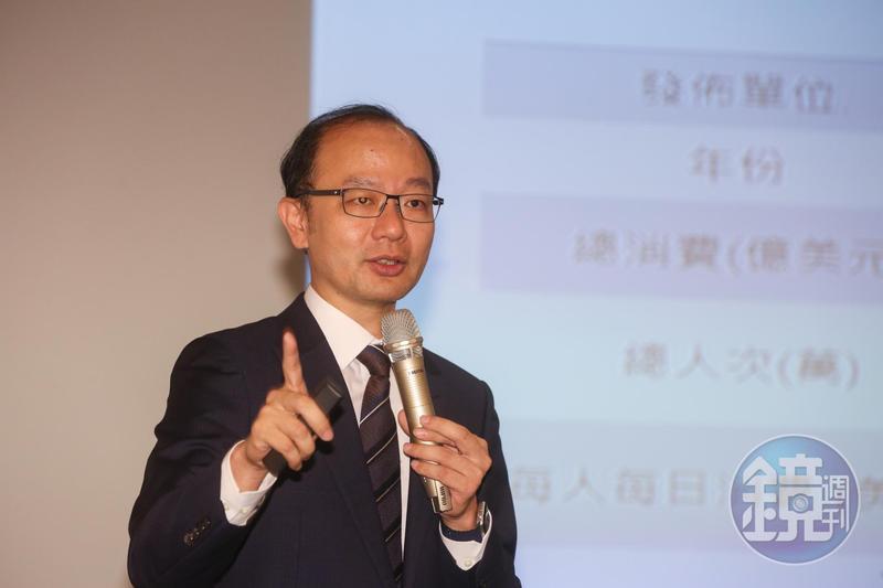 台經院景氣預測中心主任孫明德認為,短期中美貿易戰對出口傷害大於回台投資,但會對台灣未來5到20年的經濟成長產生貢獻。