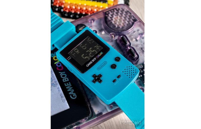 Game Boy Color 復刻手錶。(圖/merchoid)