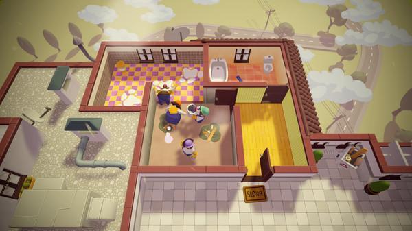 《Tools Up!》將在今年秋季上市,考驗玩家合作房屋裝修。(翻攝自Steam )