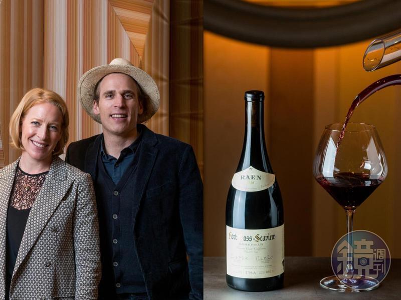 傳奇Mondavi家族第四代Carlo(右)創立雷恩酒莊,以黑皮諾葡萄酒為主。