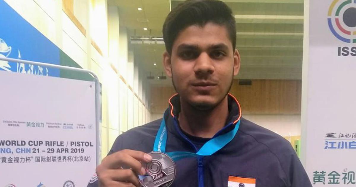 印度的《絕地求生》玩家 PANWAR, Divyansh Singh 斜槓 2020 東京奧運射擊選手。
