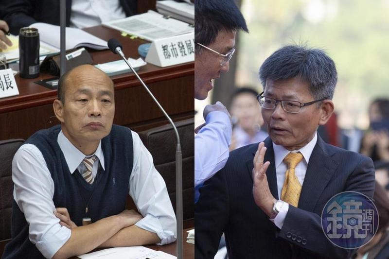 楊秋興今(24日)接受媒體專訪,提到韓國瑜先前說的「Yes,I do」,讓他覺得很噁心。(本刊資料照)