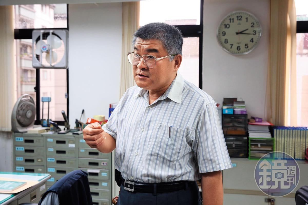 陳宜彬隊長強調,朱建華不是精神病患,而是性格偏激的社會邊緣人。