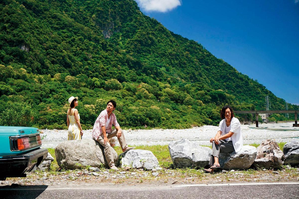 花蓮有山有海,符合《亡命之途》的劇本設定,成為全片拍攝的主場景。(威視電影提供)