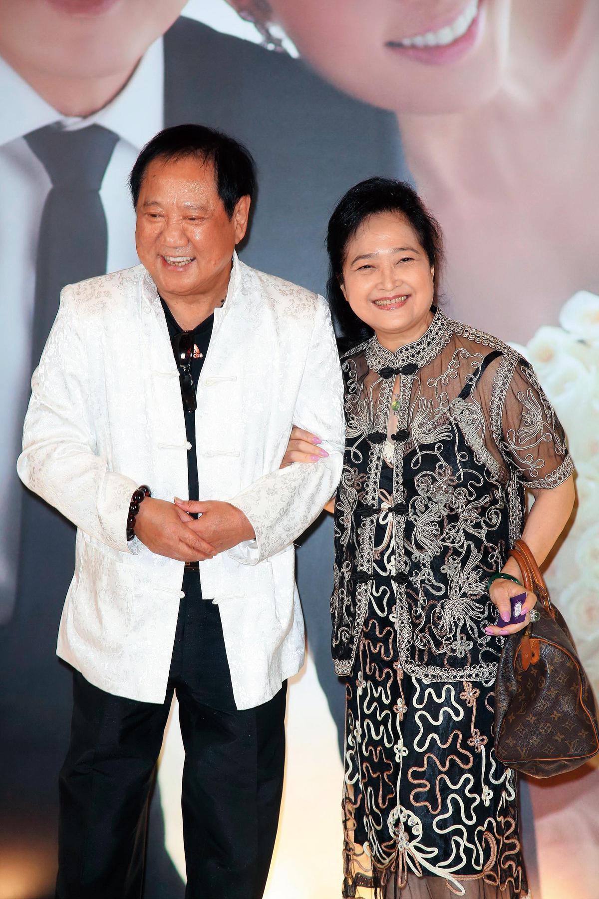 2017年,馬如龍和老婆沛小嵐上八大《健康NO.1》討論預防失智的飲食。(東方IC)
