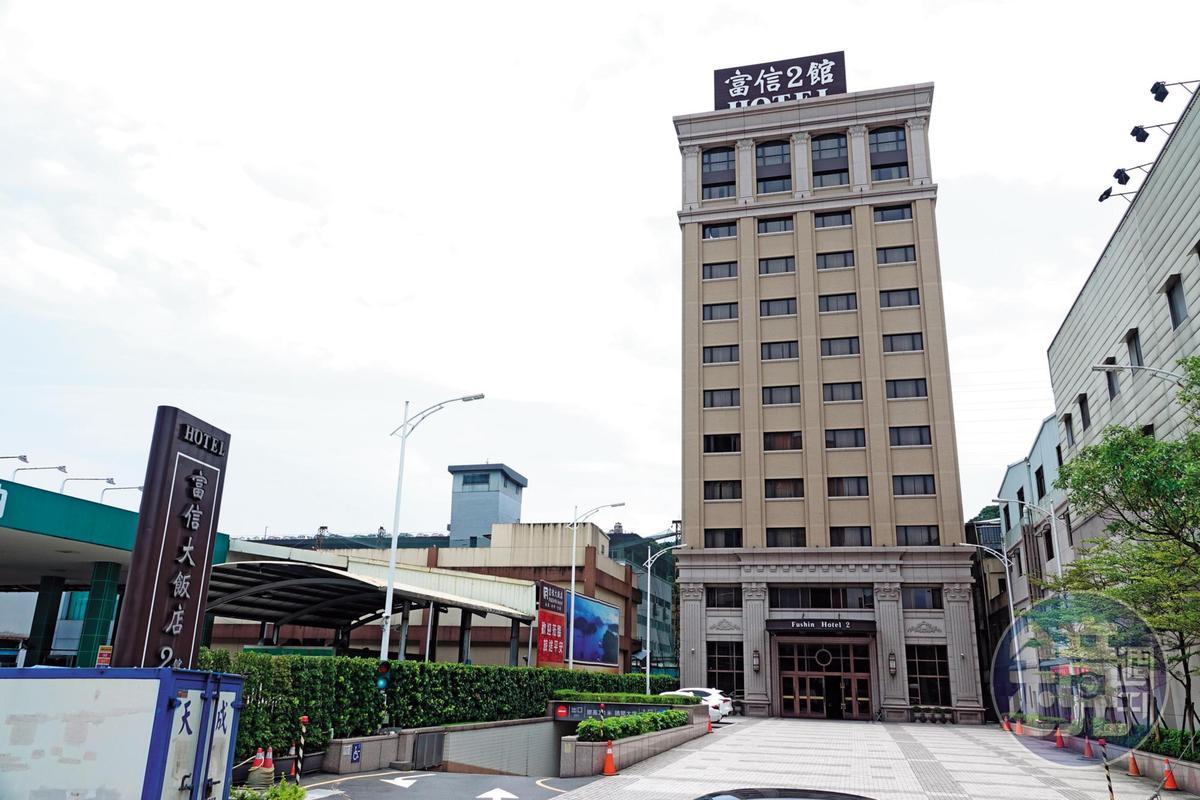 新北市汐止區的富信大飯店是柯P女幕僚與男科長過夜的地方。