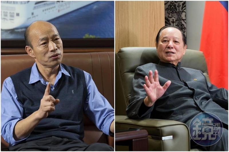 妙天才撇清和韓國瑜誓師大會無關,又改口說有幫忙。(本刊資料照)