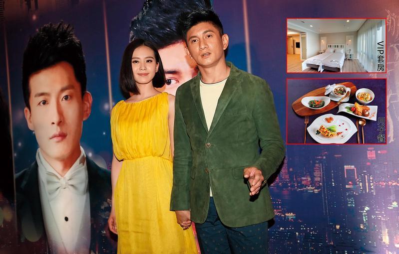 劉詩詩(左)與吳奇隆結縭4年,上月底生下一子。(東方IC)