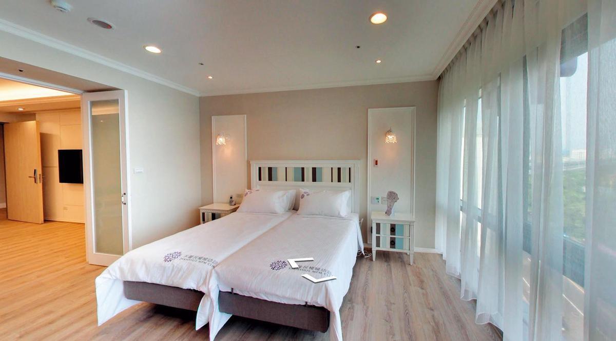 【詩詩精緻月子房】劉詩詩在台坐月子住1晚要價新台幣1萬2千元的行政VIP套房。(翻攝自Google Map)