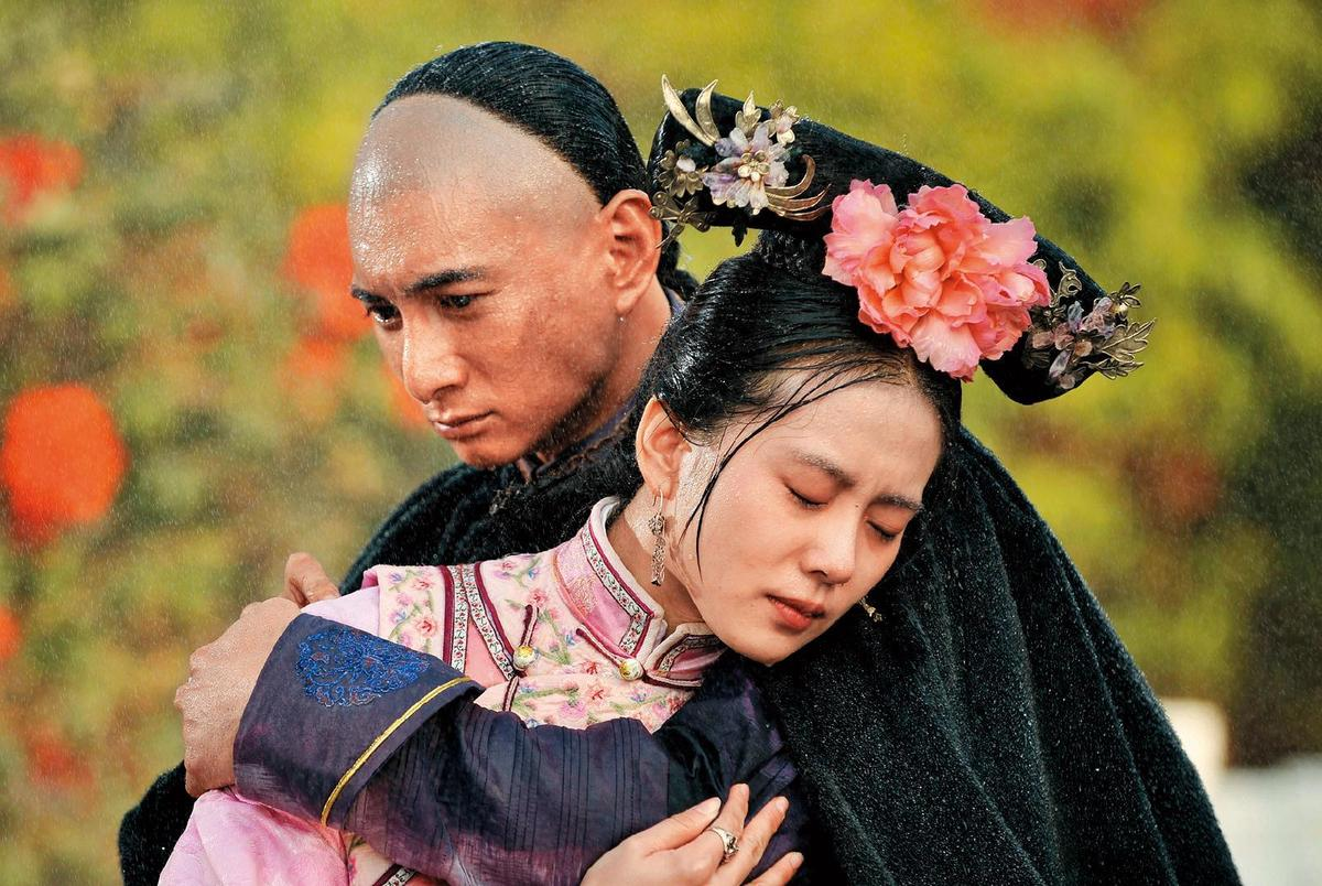 吳奇隆(左)與劉詩詩(右)2010年因合作《步步驚心》而相識相戀。