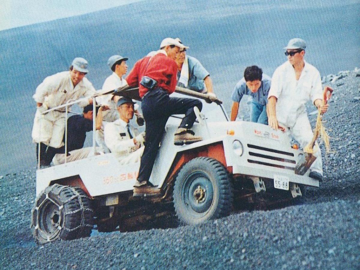 希望之星ON型是一款小型越野車,可以低成本地翻山越嶺運輸物資。