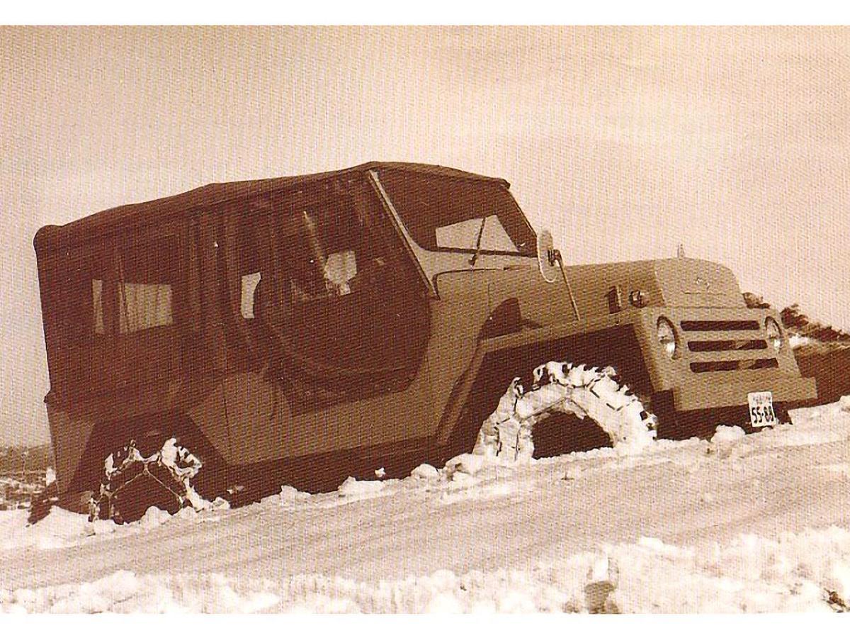 1967年希望汽車推出希望之星ON型4WD(或稱ON360)。