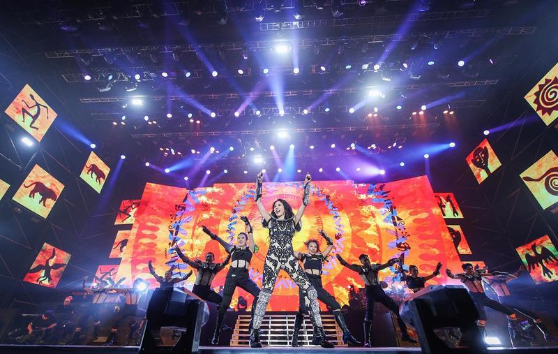 莫文蔚宣告《絕色 莫文蔚25週年》世界巡演,是人生最後一次大型巡演。(莫家寶貝工作室提供)
