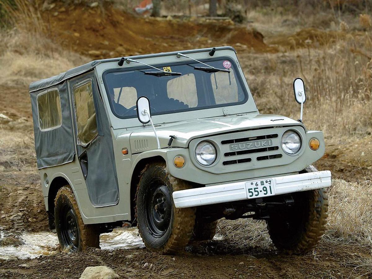 Jimny不是1970年就問世的長青車款?怎可能沒有典故?