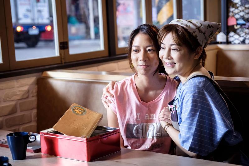 王彩樺客串《如果愛,重來》,和陳妤有感人的劇情。(愛奇藝提供)