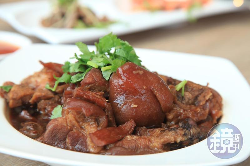 「海味豬腳」膠質豐富,還有一層獨特海味。(250元/份)