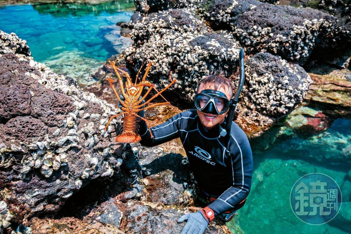 毛司嶼被視為磯釣天堂,以前也是龍蝦的棲息地。