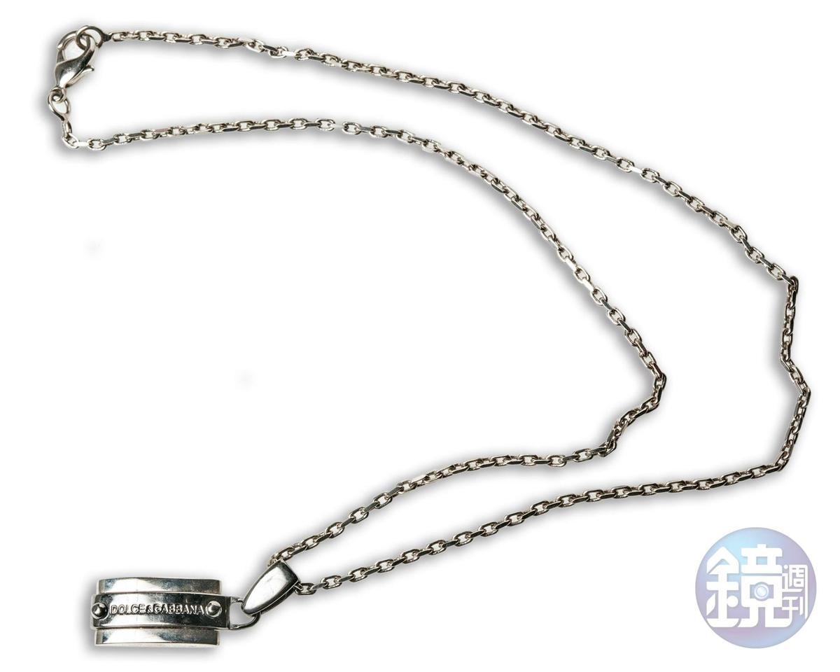Dolce & Gabbana項鍊。約NT$7,000